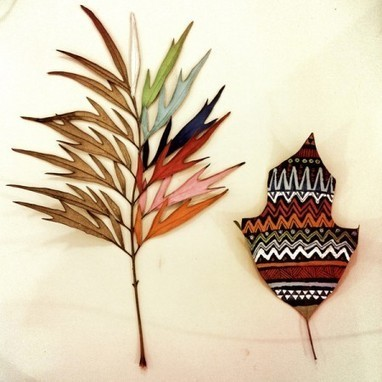 """""""Painted Leaves"""" on environmentteam.com 