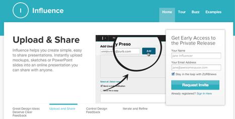 @InfluenceApp - Easiest way to present design ideas for feedback | Emerging Digital Workflows [ @zbutcher ] | Scoop.it