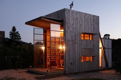 Whangapoua Sled House / Crosson Clarke Carnachan | Rendons visibles l'architecture et les architectes | Scoop.it