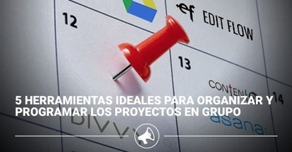 5 Great Tools to Help You Organize and Schedule Collaborative Projects | Herramientas TIC para el aula | Scoop.it