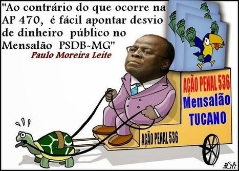Paulo Moreira Leite: Mensalões diferentes | EVS NOTÍCIAS... | Scoop.it
