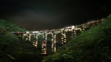 Ruined bridges of Italy reconceived as vertical cities of the future   future cities   Scoop.it