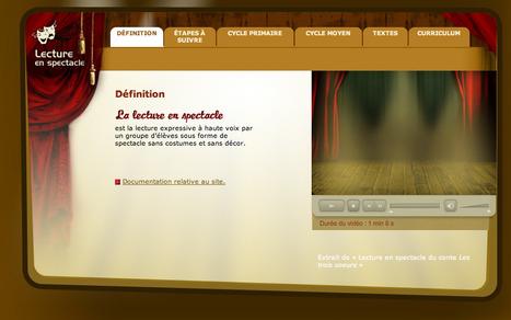 Lecture en spectacle : un guide précieux | Théâtre, jeux dramatiques et improvisations au primaire | Scoop.it