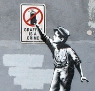Banksy: Better Out Than In | social justice | Scoop.it