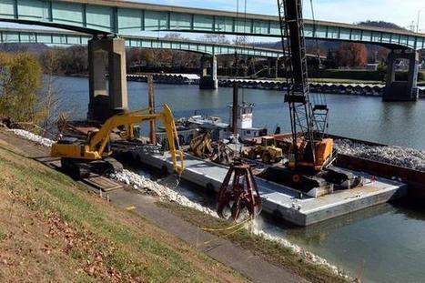 Kanawha riverbank restoration underway - Charleston Gazette | Fish Habitat | Scoop.it