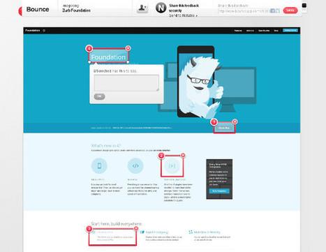 ZURB Bounce, un outil pour simplifier les retours clients - service-web   plateformes-applis   Scoop.it