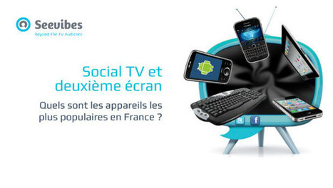 Le mobile reste l'appareil de second écran le plus populaire en France | Social TV is everywhere | Scoop.it