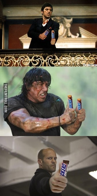 Swap guns for Snickers | The Filmtroll | Scoop.it