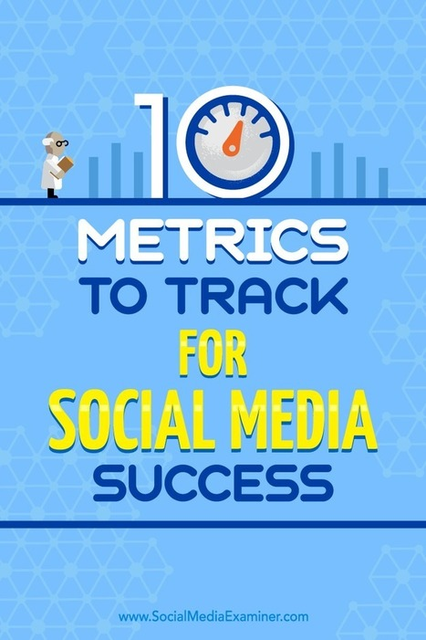 10 Metrics to Track for Social Media Success | Social Media News | Scoop.it