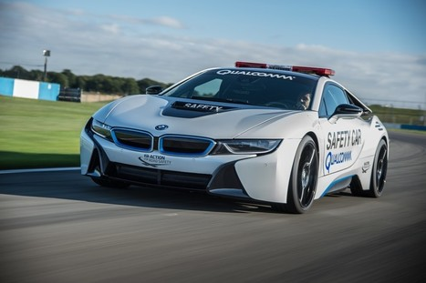 BMW i8: Safety Car del campionato Formula E   Motori e Buon Cibo   Scoop.it