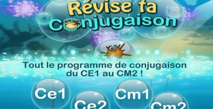 Révise ta conjugaison, une app simple et efficace de conjugaison - App-enfant | TIC et TICE mais... en français | Scoop.it