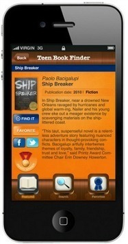 YALSA App 'First of Its Kind' for Discovering Teen Books | LibraryLinks LiensBiblio | Scoop.it