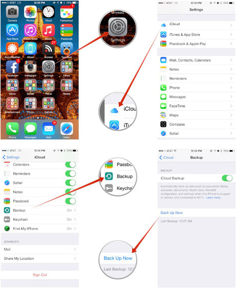 How to manually trigger an iCloud backup on iPhone and iPad   iMore   How to Use an iPhone Well   Scoop.it
