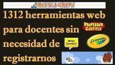 AYUDA PARA MAESTROS: 1.312 HERRAMIENTAS WEB PARA DOCENTES SIN NECESIDAD DE REGISTRARSE | Herramientas Digitales para el profesorado | Scoop.it