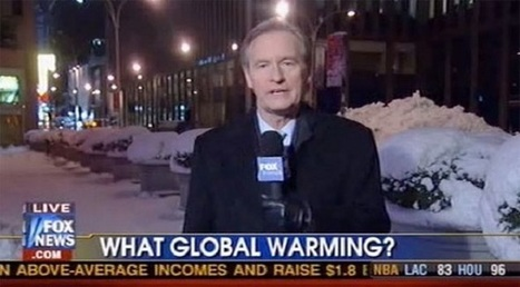 2013-study: Watching Fox News makes you distrust climate scientists | Climate change and the media | Scoop.it