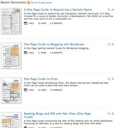 One Page Guides - Twitter, Google, and more   Tech Tips   Scoop.it