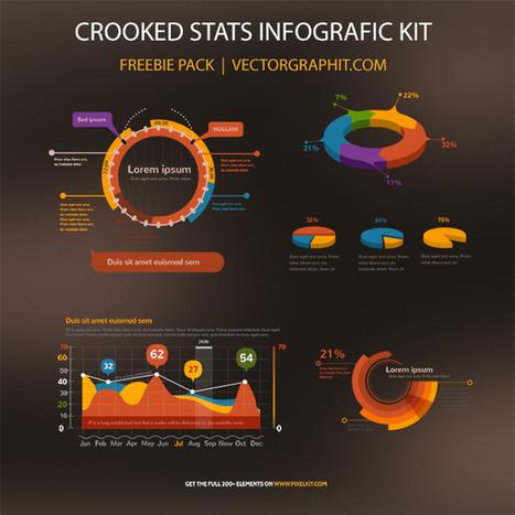 Free Infographics Elements from Pixelkit | Vectors | Scoop.it