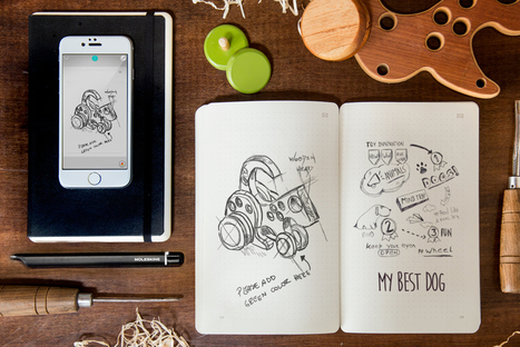 "Moleskine Synchronizes ANALOG and DIGITAL Sketching with their ""Smart Writing Set"" 