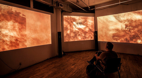 """""""SKIN"""" Transforms Your Emotions Into Sound And Color Through Sweat Data   The Creators Project   Culture augmentée - Augmented culture   Scoop.it"""