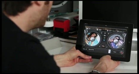 Benjamin Braxton présente l'application eDJing sur iPad | Musique numérique & tactile | Scoop.it
