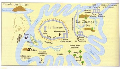 Carte des enfers | RESSOURCES EN LATIN | Scoop.it
