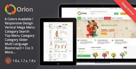 Orion - Mega Shop Responsive Magento Theme - Download New Themes | Creative Ecommerce Templates anil | Scoop.it