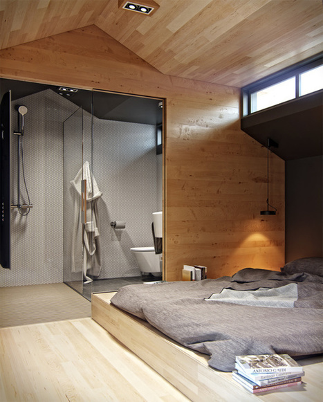 Denis Svirid's Small, Stylish Apartment in the Ukraine | Humble Homes | laurent | Scoop.it