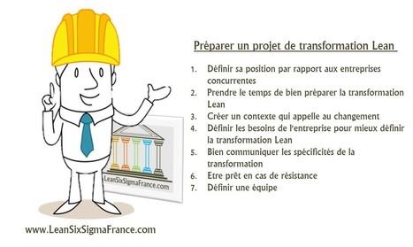 Comment bien préparer un projet de transformation Lean [Chapitre 2.1 – Le Lean Management] - LeanSixSigmaFrance.com | Lean Six Sigma, Lean Startup & Agile Skills | Scoop.it