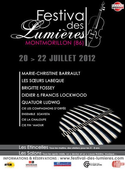 Festival des Lumières de Montmorillon - 20-21-22 juillet 2012 | Revue de Web par ClC | Scoop.it