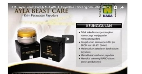 Cari Tahu Seputar Aceh: Penjual Ayla Breast Care Wilayah Aceh | Indonesia NEWS Fast and Update | Scoop.it
