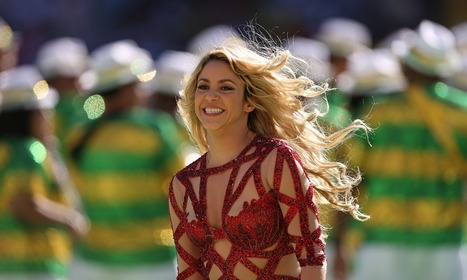 Shakira becomes most liked celebrity on Facebook - The Guardian | Social media updated | Scoop.it
