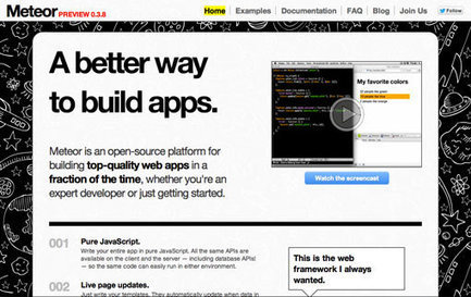 Développement web : le framework Meteor lève 11.2 millions de ... - Presse-citron | Développement Web et sites | Scoop.it