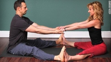 Partner yoga doubles the pleasure and halves the stress - CNN | EMDR | Scoop.it