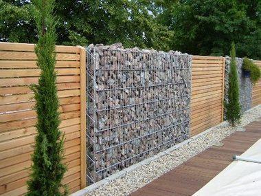 Un muret en gabions dans votre jardin | Côté Jardin | Scoop.it