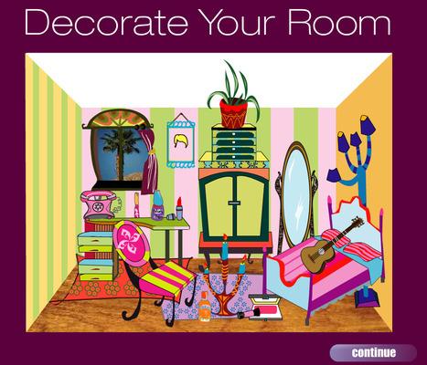 Decorate your room | Intégration raisonnée des TICE dans l'élaboration de séquences pédagogiques et la mise en place de tâches communicatives au collège (anglais) | Scoop.it
