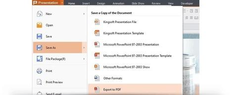 Kingsoft Presentation Free 2013, PPT, PPTX compatible. Download for free - Kingsoft Office   Aprendiendo a Distancia   Scoop.it