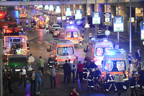 Brits caught in Istanbul airport suicide attack tell of their terror | Business Video Directory | Scoop.it