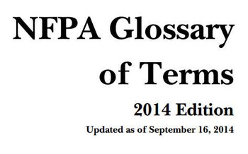 (EN) (PDF) - New NFPA Glossary of Terms   CSI Phoenix   Glossarissimo!   Scoop.it
