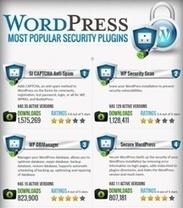WordPress Most Popular Security Plugins (Infographic) | Wordpress | Scoop.it
