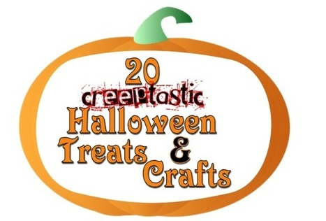 20 Creeptastic Halloween Treats and Crafts - My Personal Accent | Crafts | Scoop.it