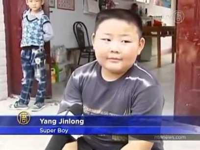 Amazing 7 Year Old Boy With Super Human Strength   The Pit Boss   Scoop.it