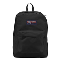JanSport SuperBreak Backpack 16 x 13 x 8 Black by Office Depot | Back To School Supplies | Scoop.it