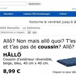 Parodie « Nan mais allô » d'Ikea, Nabila nue... le buzz continue ! | Stratégies de Communication Digitale | Scoop.it