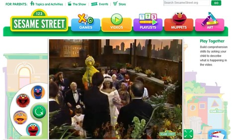 Videos - Sesame Street   Exploring stages in a lifetime with children   Scoop.it