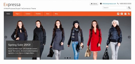 Best Drupal eCommerce Themes 2014 | WordPress Theme | Scoop.it