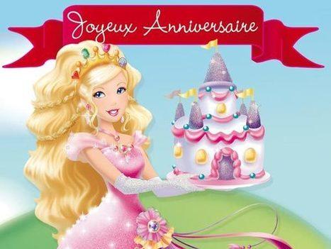 Carte d'anniversaire de princesse dans le style disney | Mes bonnes trouvailles | Scoop.it