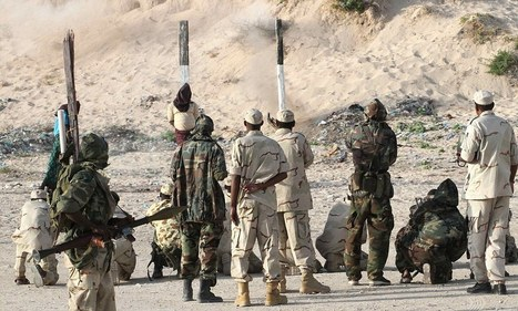The firing squad who botched the job: Somalia executes two former government soldiers accused of murder to prove to West it is clamping down on lawlessness | Little Soldier Africa | Scoop.it