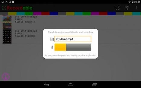 Comment enregistrer l'écran de son smartphone ou de sa tablette ? | Intégration du iPad au préscolaire primaire | Scoop.it