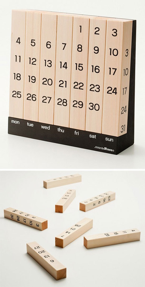 41 Cool  Creative Calendar Design Ideas For 2014 | Technology in Art And Education | Scoop.it