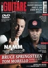 Bruce Springsteen & Tom Morello - Le son de la rue américaine - Guitare Xtreme Magazine | Bruce Springsteen | Scoop.it
